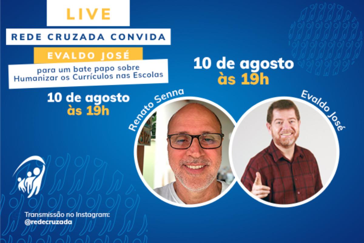 Live com o coordenador pedagógico Evaldo José