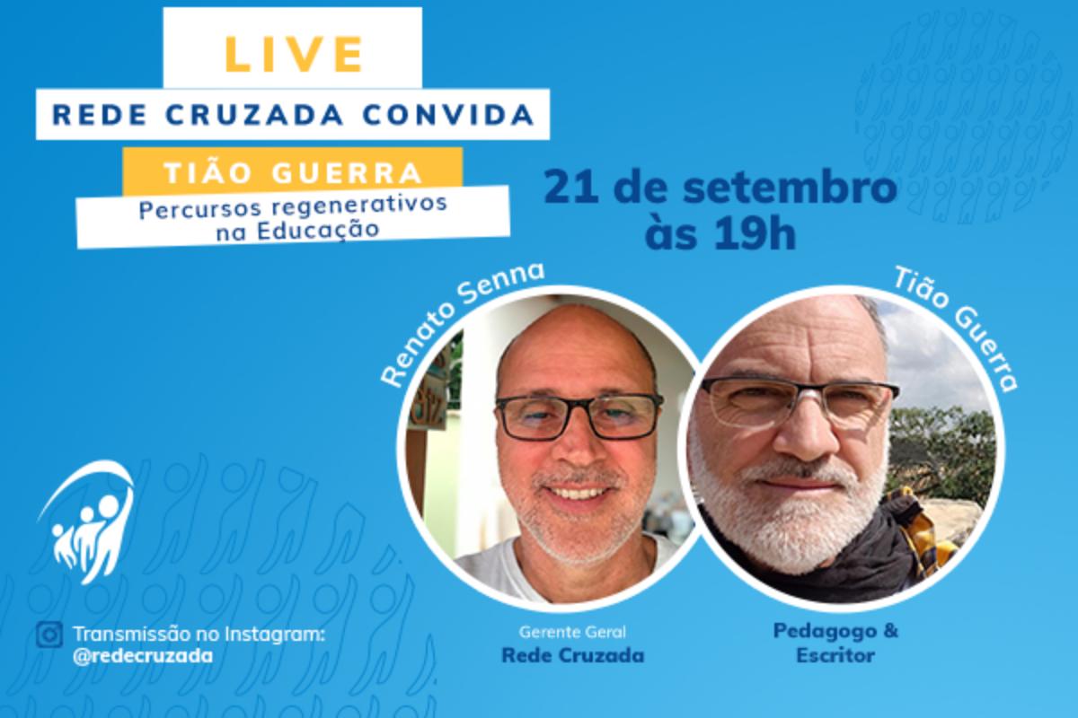 Live com o pedagogo Tião Guerra