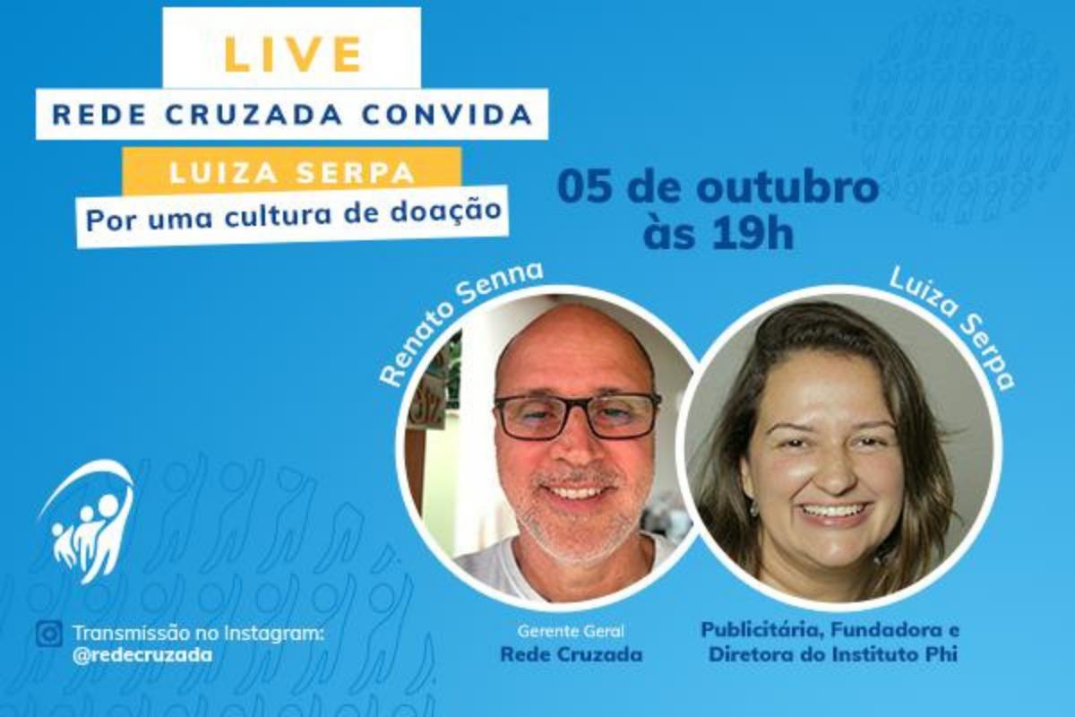 Live com Luiza Serpa, fundadora do Instituto Phi