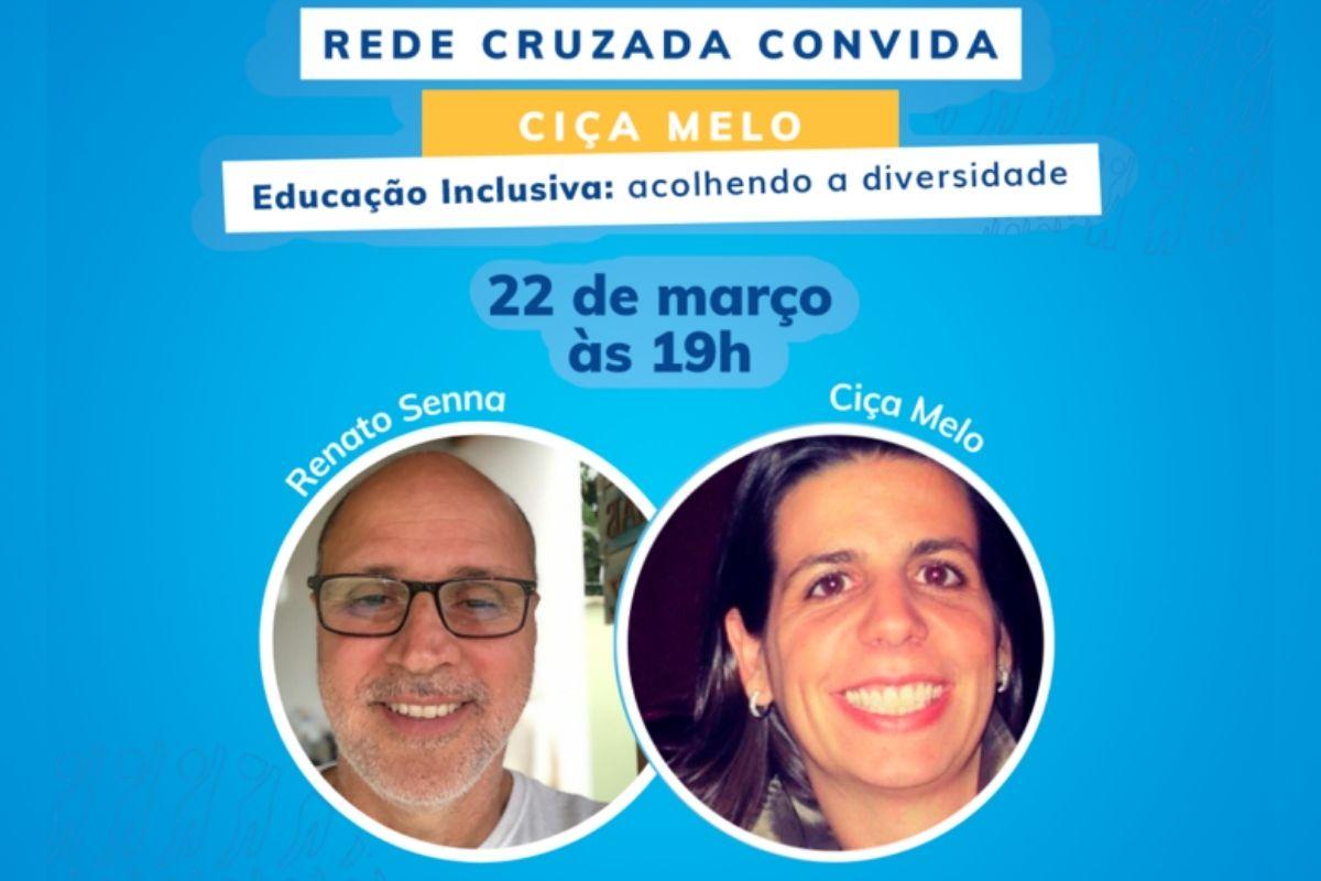 Live com Ciça Melo, fundadora do projeto social Paratodos